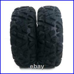 2Pcs 25x8-12 ATV UTV Tiers 6 PLY With Warranty Replacement Spare Car Wheels US