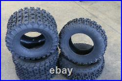 BOSS RACING 21x7-10 & 20x11-9 Replacement ATV UTV 6 Ply Tires BANSHEE RAPTOR YFZ