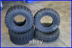 BOSS RACING 22x7-10 & 22x10-9 Replacement ATV UTV 6 Ply Tires BANSHEE RAPTOR YFZ