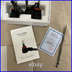 Melograno51 MJ88 Headlight H8 LED Kit 20000LM 45W HIGH/LOWithFOG Beam 6000K white