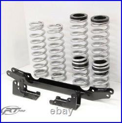 RT Pro Black 2 Lift Kit & Heavy Duty Rate Spring Bundle For 11-13 RZR 570 50