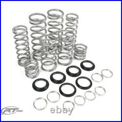 RT Pro Dual HD Rate Springs for RZR XP 1000 Turbo 4 Seat With Factory Fox Coilover
