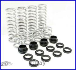 RT Pro Heavy Duty Rate Replacement Springs For Can Am Maverick 64 With Fox Podium
