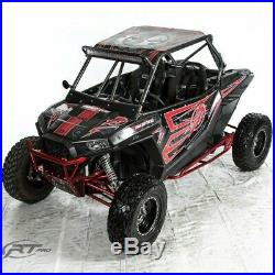 RT Pro RTP1000K Black Winch Mount MX Front Bumper For Polaris 900 & 1000 XP