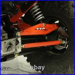 RT Pro RTP5202509 Black Powder Coated SHD Radius Rods For Can Am Maverick XDS