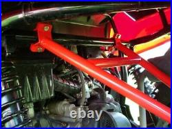 RT Pro RTP5401748 Black Powder Coated Rear Bumper Brace For Polaris RZR 170