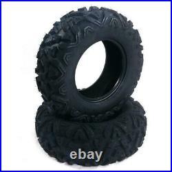 Set of 2 Replacement 23x7-10 23x7x10 ATV UTV Tire 6 Ply Tires Tubeless OD 23