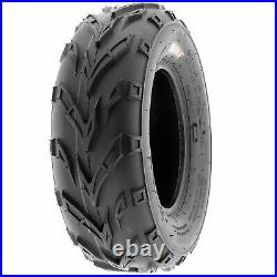 Set of 4, 145/70-6 & 16x6-8 Replacement ATV UTV 6 Ply Tires A004 by SunF