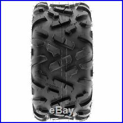 Set of 4, 145/70-6 & 16x8-7 Replacement ATV UTV 6 Ply Tires A051 by SunF