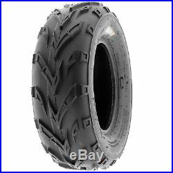 Set of 4, 16x6-8 & 16x7-8 Replacement ATV UTV 6 Ply Tires A004 by SunF