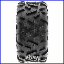 Set of 4, 16x8-7 & 18x9.5-8 Replacement ATV UTV 6 Ply Tires A051 by SunF
