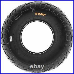 Set of 4, 19x7-8 & 20x10-10 Replacement ATV UTV 6 Ply Tires A021 by SunF