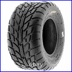 Set of 4, 19x7-8 & 22x10-10 Replacement ATV UTV 6 Ply Tires A021 by SunF