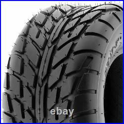 Set of 4, 19x7-8 & 22x10-8 Replacement ATV UTV 6 Ply Tires A021 by SunF