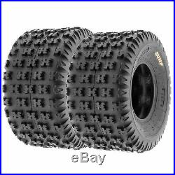 Set of 4, 20x6-10 & 22x11-9 Replacement ATV UTV 6 Ply Tires A031 by SunF