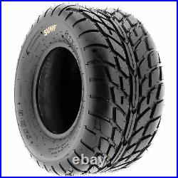 Set of 4, 21x7-10 & 22x10-8 Replacement ATV UTV 6 Ply Tires A021 by SunF