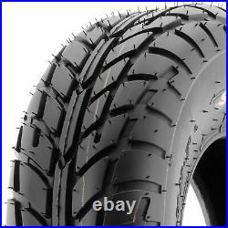 Set of 4, 22x7-10 & 20x10-10 Replacement ATV UTV 6 Ply Tires A021 by SunF