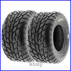 Set of 4, 22x7-10 & 22x10-10 Replacement ATV UTV 6 Ply Tires A021 by SunF