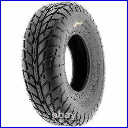 Set of 4, 22x7-10 & 22x10-8 Replacement ATV UTV 6 Ply Tires A021 by SunF