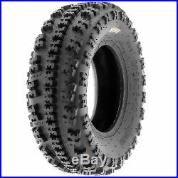Set of 4, 22x7-10 & 22x11-9 Replacement ATV UTV 6 Ply Tires A027 by SunF