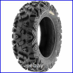 Set of 4, 22x7-12 & 22x10-12 Replacement ATV UTV SxS 6 Ply Tires A033 by SunF