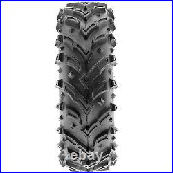 Set of 4, 23x8-11 & 22x11-9 Replacement ATV UTV 6 Ply Tires A024 by SunF