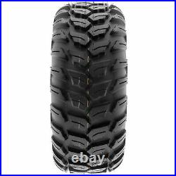 Set of 4, 26x9R14 & 26x11R14 Replacement ATV UTV 6 Ply Tires A043 by SunF