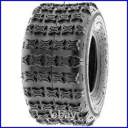 Set of 4 SunF 19x7-8 & 18x9.5-8 Replacement ATV UTV All Terrain 6 Ply Tires A014