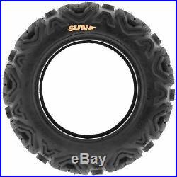 SunF 22x7-12 & 22x10-12 Replacement ATV UTV SxS 6 Ply Tires A033 Set of 4