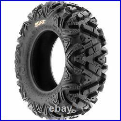 SunF 24x8-11 & 24x11-10 Replacement ATV UTV SxS 6 Ply Tires A033 Set of 4