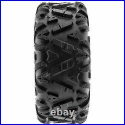 SunF 24x8-12 & 24x11-10 Replacement ATV UTV SxS 6 Ply Tires A033 Set of 4
