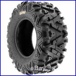 SunF 24x9-11 & 24x11-10 Replacement ATV UTV SxS 6 Ply Tires A033 Set of 4