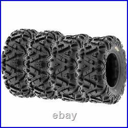 SunF 25x8-11 & 25x10-12 Replacement ATV UTV SxS 6 Ply Tires A033 Set of 4