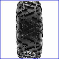 SunF 25x8-12 & 25x10-12 Replacement ATV UTV SxS 6 Ply Tires A033 Set of 4