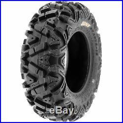 SunF 25x8-12 & 25x11-12 Replacement ATV UTV SxS 6 Ply Tires A033 Set of 4