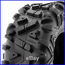SunF 26x9-12 & 26x11-12 Replacement ATV UTV SxS 6 Ply Tires A033 Set of 4