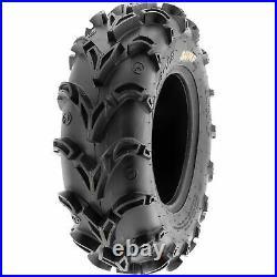 SunF 26x9-12 Replacement 26x9x12 26 ATV UTV Tire 6 PR A050 Set of 4