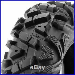 SunF 27x9-14 & 27x11-14 Replacement ATV UTV SxS 6 Ply Tires A033 Set of 4