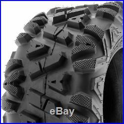 SunF Replacement 25x12-9 25x12x9 All Terrain ATV UTV Tire 6 Ply A033 Single