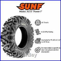 SunF Replacement 26x11-12 26x11x12 All Trail ATV UTV Tire 6 Ply A033 Single