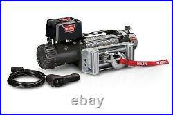 Warn 68500 9.5XP Series 12 Volt Electric Winch With 9,500 LB Capacity 100 FT Rope