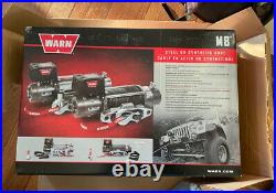Warn 87800 M8-S M8000 Series 12 V Electric Winch With 8000 LB Capacity 100' Rope