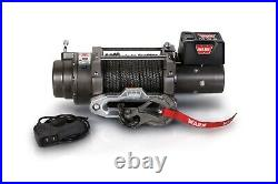 Warn 97720 M12-S 12,000 Capacity 12 Volt Electric Winch With 100' Synthetic Rope